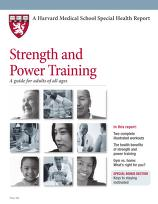 Cover of: Strength and power training