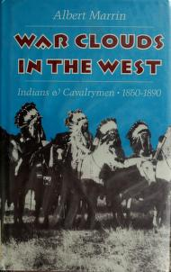 Cover of: War clouds in the West   Albert Marrin