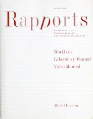 Cover of: Workbook / laboratory manual / video manual Rapports | Joel Walz